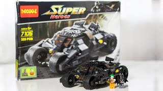BrickFather - LEGO Tumbler (Decool 7105) [Watch It Build]