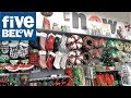 FIVE BELOW CHRISTMAS 2018 ITEMS (SO FAR) - CHRISTMAS SHOPPING ORNAMENTS DECORATIONS HOME DECOR