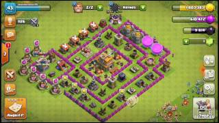 Clash of Clans Episode 1 Angriff :P