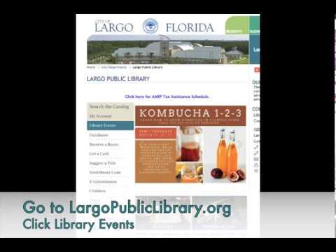 Library Online Event Calendar