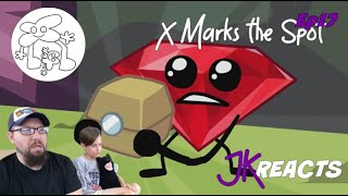 Battle for B.F.D.I. Episode 17: X Marks the Spot JKReacts