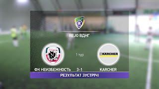 Обзор матча ФК Неизбежность Karcher Турнир по мини футболу в Киеве