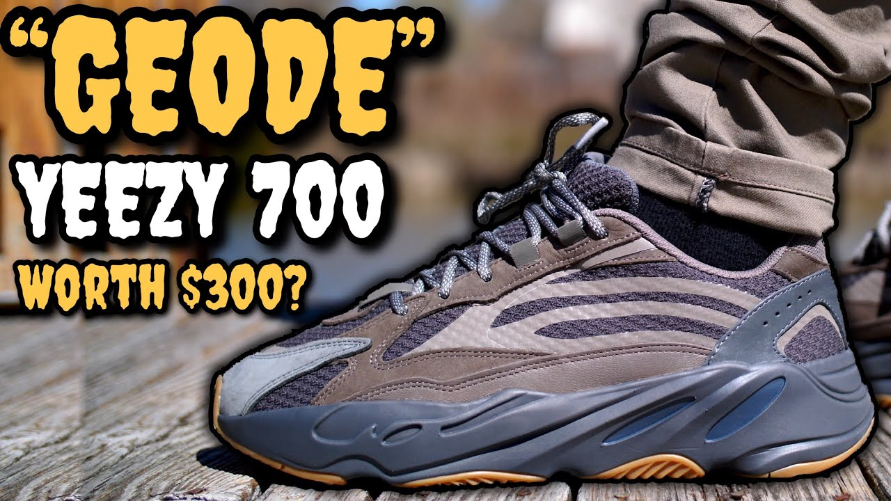 c9e27e91 GEODE' Adidas Yeezy Boost 700 V2 On Feet Review! Worth $300? The ...