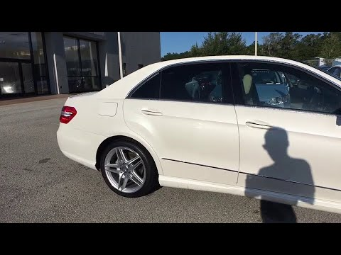 2013 Mercedes Benz E Class Orange Park, Fleming Island, Mandarin, St  Augustine, FL PL998A