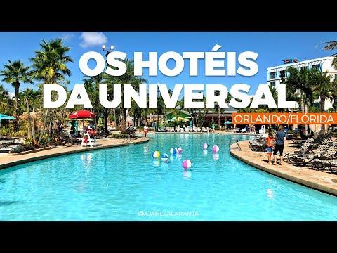 Aventura e Sapphire Falls, 2 hóteis da Universal Orlando