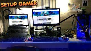 MEU SETUP GAMER 2017 ‹ Vlog ›