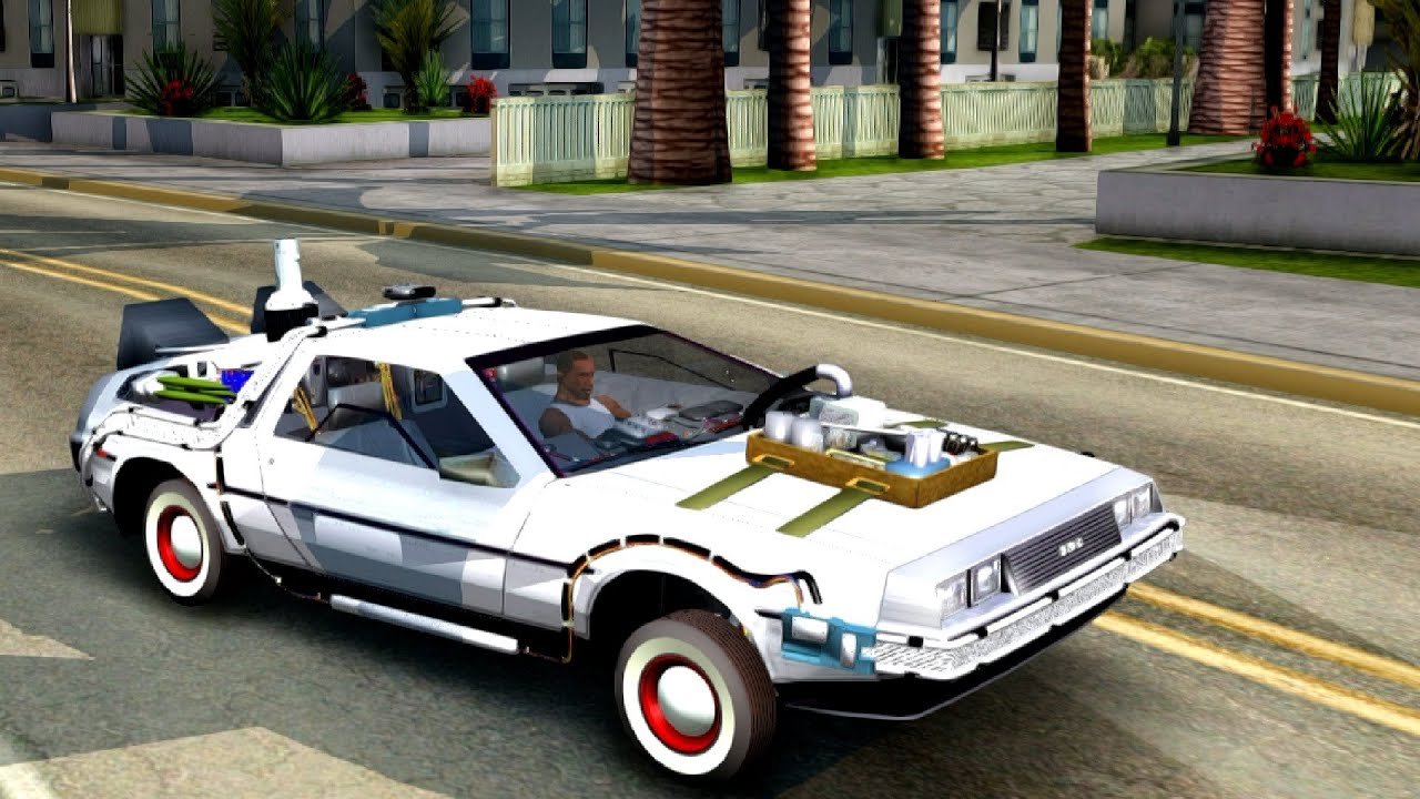 Back To The Future Part 3 DeLorean DMC 12 - GTA San ...