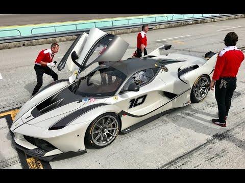 Riding In A Ferrari FXXK - Near 200MPH,...