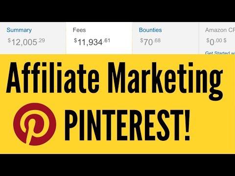 Amazon Affiliate Marketing through PINTEREST | $12,005 DOLLARS 🤑 FAST!