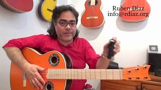 ABC (9) of alternative ways for comping in cante flamenco /Learn Paco de Lucia´s style/ Ruben Diaz