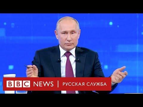 Неловкие вопросы Путину