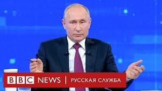Неловкие вопросы Путину на «Прямой линии»