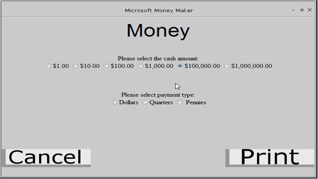 how to get free money microsoft money maker youtube