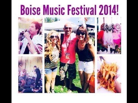 BOISE MUSIC FESTIVAL 2014! (Vlog)