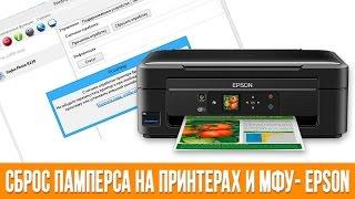 видео Сброс памперса на принтерах и МФУ Epson