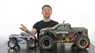 Size comparison video for Redcat Racing Vehicles