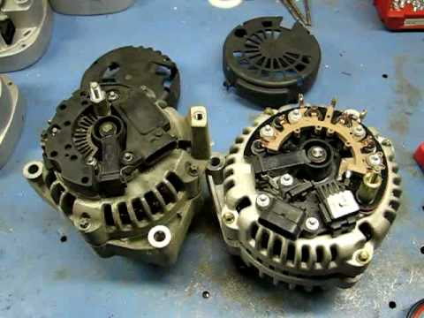 Testing and Repairing 1996-2009 GM Alternators - YouTube