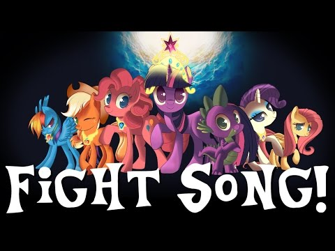 """""""Fight Song"""" Sung in MLP Voices PMV"""