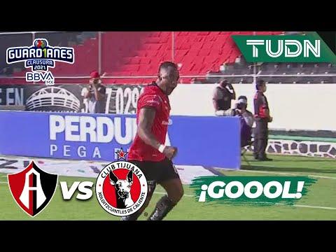 ¡GOOL! ¡Gol de Renato Ibarra! | Atlas 1-0 Tijuana | Torneo Guard1anes 2021 BBVA MX - J13 | TUDN