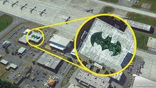 18 Orte, die du nur über Google Earth sehen kannst