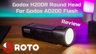 Godox H200R Round Head for AD200 Flash - Real world Wedding Photography review