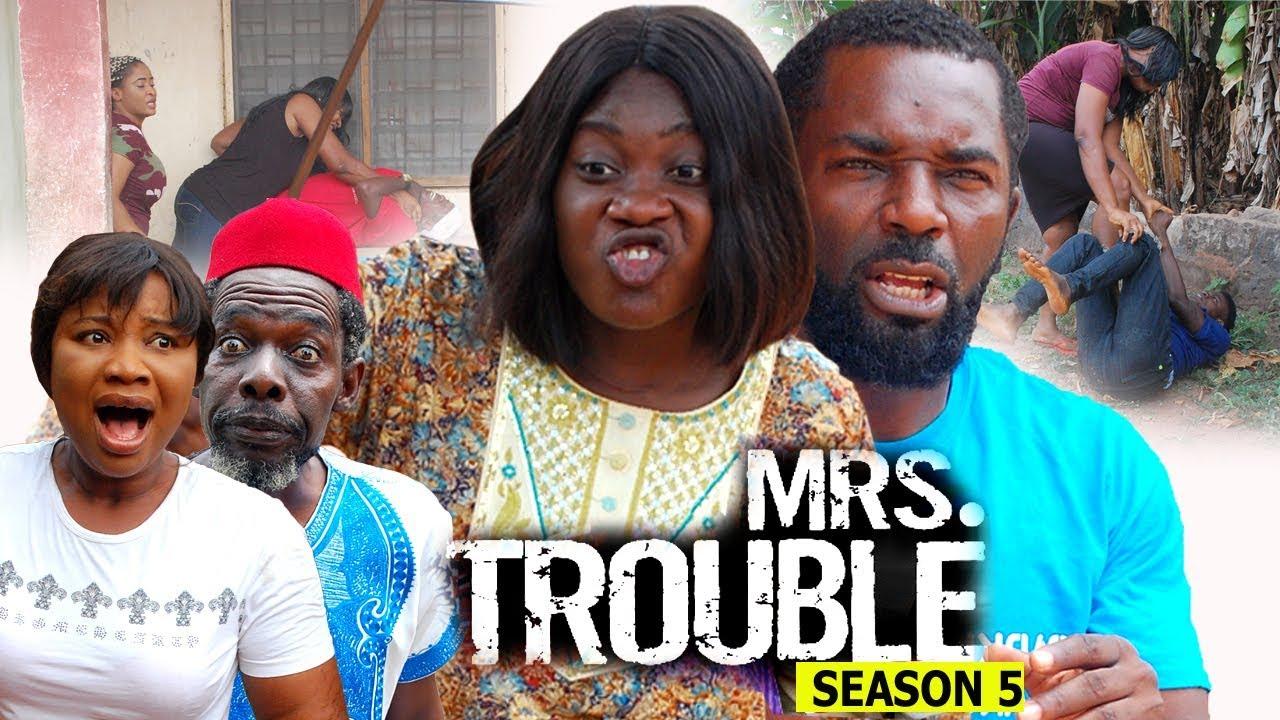 Download Mrs Trouble Season 5 - Mercy Johnson 2018 Latest Nigerian Nollywood Movie full HD