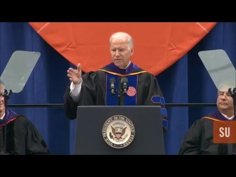Vice President Joe Biden L'68 Delivers the College of Law's 2016 Commencement Address