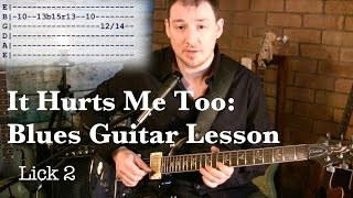 It Hurts Me Too - Blues Guitar Lesson