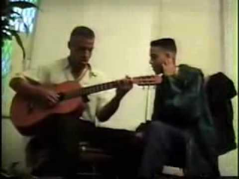 Anthony romeo santos and Lenny santos en el comienzo the beggining
