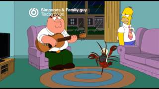 Simpsons & Family guy - Iraq lobster