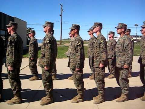 Marine Educator's Week: Recruits