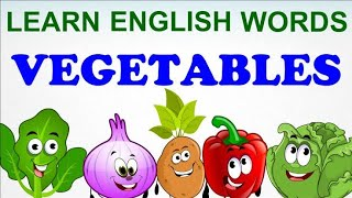 Learn Vegetables - part 1