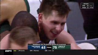 3/9/2019  Michigan State 75 Michigan 63