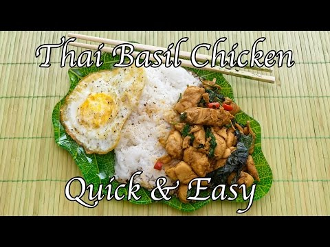 Quick & Easy Thai Basil Chicken – Taste of Thai Street Foods, MealPrep Recipe # 14