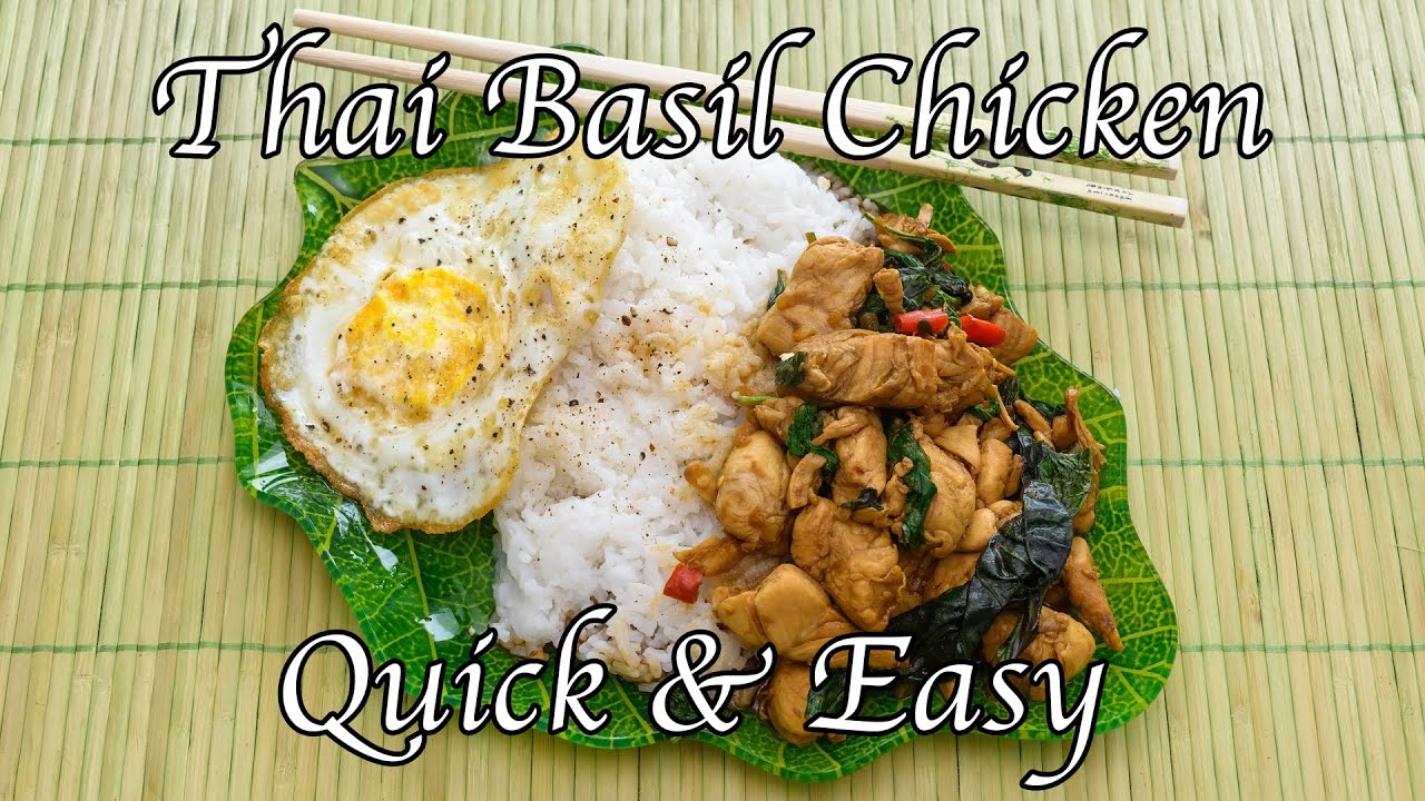Quick easy thai basil chicken taste of thai street foods quick easy thai basil chicken taste of thai street foods mealprep recipe 14 forumfinder Choice Image