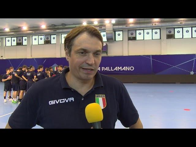 Italia U17 maschile in campo a Chieti: il punto col tecnico Boris Popovic
