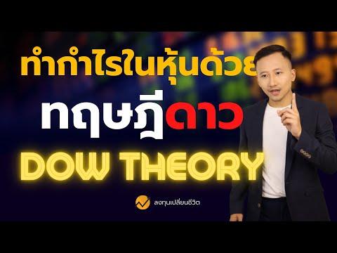 เทรดทำกำไรด้วย Dow Theory ฉบับเข้าใจง่าย มือใหม่ควรดู !!