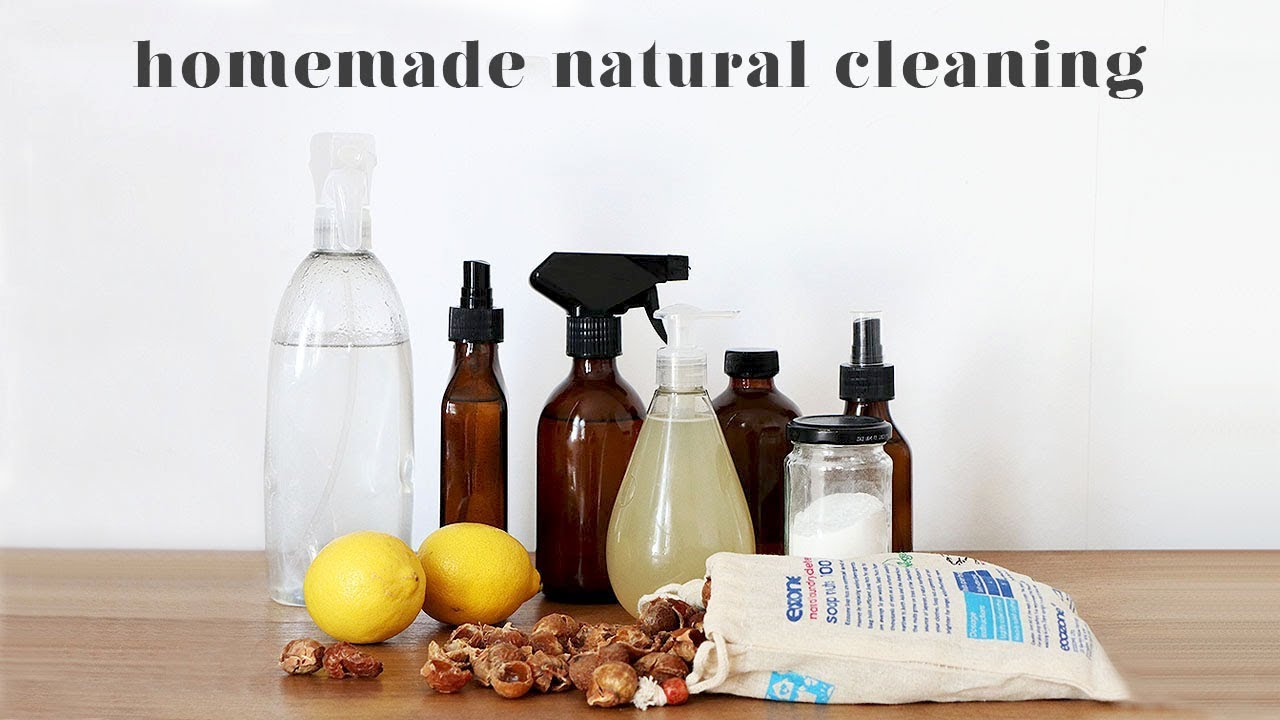20 DIY NATURAL CLEANING RECIPES, TIPS AND HACKS — madeleine