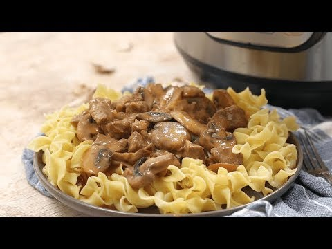 Beef Stroganoff - Easy Instant Pot - Perfect for Beginners