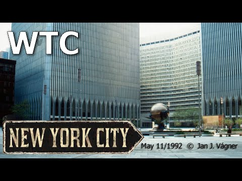 WTC - The same place after twenty years (1992 - 2012)