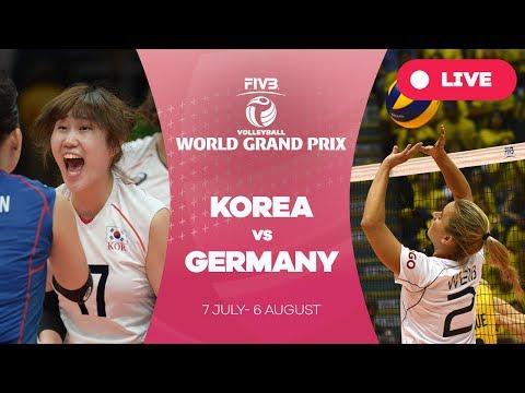 Korea v Germany - Group 2: 2017 FIVB Volleyball World Grand Prix