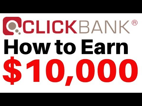 Clickbank for Beginners 2020 | How to earn $10,000 with Clickbank affiliate marketing thumbnail