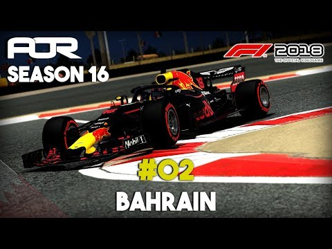 F1 2018 | AOR Hype Energy PC F1 - Season 16 - #02 Bahrain