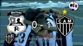 Zamora 0 Vs Atlético Mineiro 1 - Copa Libertadores 2014 - 2da Ronda