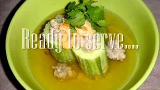 Chubby Lawyer's Stuffed Cucumber With Minced Pork Soup