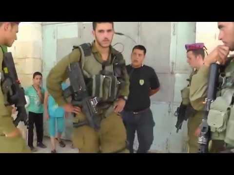 İsrail 5 yaşındaki FİLİSTİN'li çocuğu göz altına aldı!