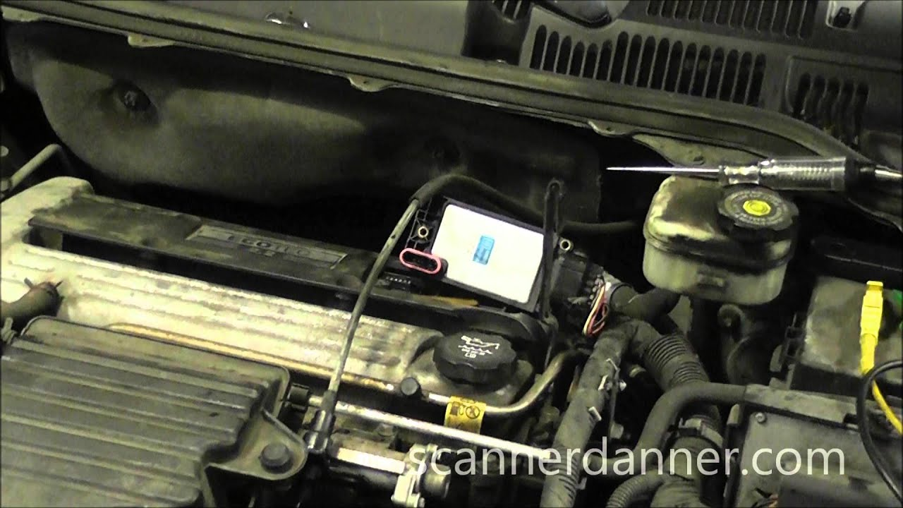 2004 Saturn Ion 22 Misfire No Spark From One Coil Bad Ignition 2001 Sl2 Starter Wiring Diagram Module Youtube