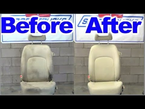 how to remove severe grease stains from car seats and upholstery youtube. Black Bedroom Furniture Sets. Home Design Ideas