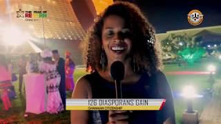 Year of Return: 126 African Diasporans granted Ghanaian Citizenship