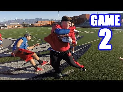 KNOCKING PEOPLE OUT OF THE GAME! | Sunday Morning Football | Game 2 thumbnail